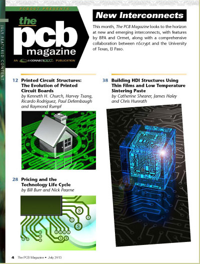 i connect007 pcb007 magazinesummary this month, the pcb