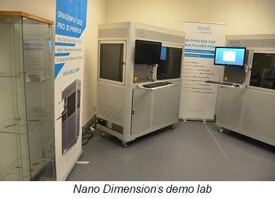 Welcome to the Silicon Valley Neighborhood: Nano Dimension Arrives